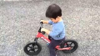 ストライダー2歳と3ヶ月