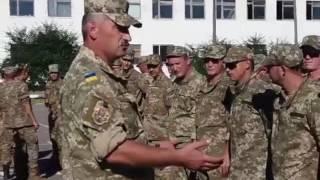Оскандалившийся майор извиняется перед личным составом 93 бригады