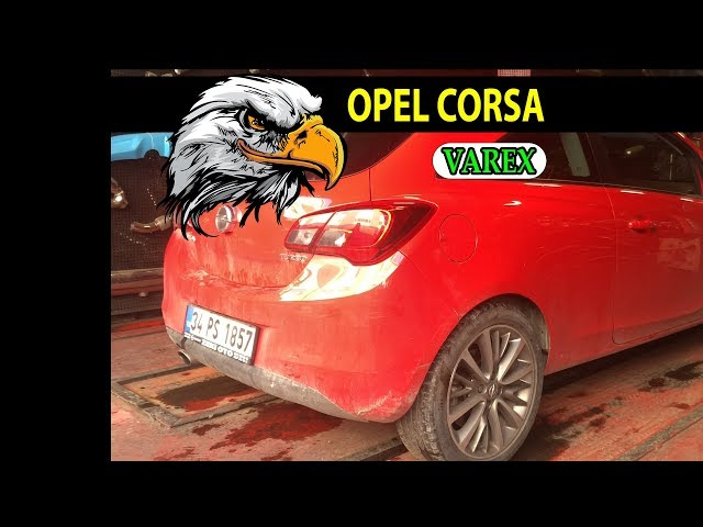 OPEL CORSA E 1.0 TURBO KUMANDALI EGZOZ SESİ