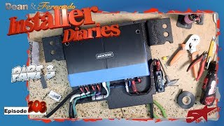 Signal check and Kicker power gets  started 2019 Honda Accord Installer Diaries 208 part 3