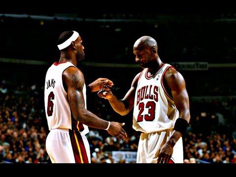 LeBron James Michael Jordan Become A Legend NBA