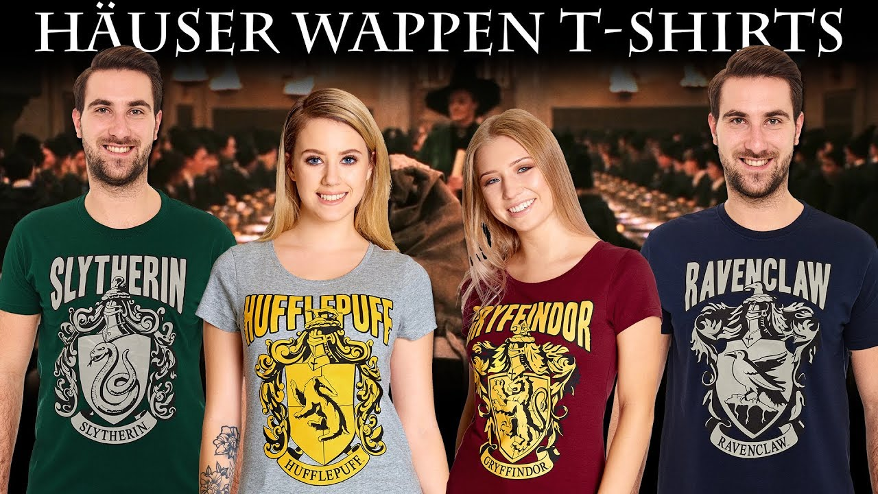 harry potter hogwarts h user wappen t shirts youtube. Black Bedroom Furniture Sets. Home Design Ideas