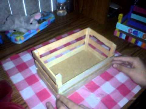 Como hacer una cunita para sigotos youtube for Como hacer una terraza techada