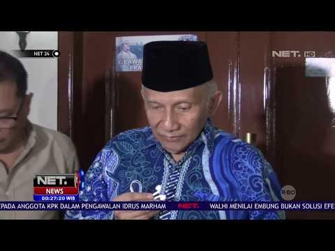Amien Rais Pastikan Tidak Ada Deal Politik Prabowo & Jokowi - NET24
