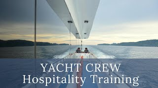 Yacht Crew training at La Classe