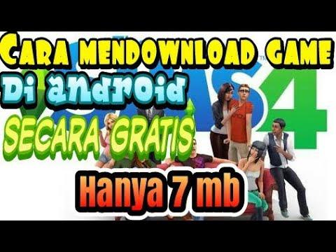 Cara mendownload game THE SIMS4 di android secara gratis (hanya  mendownloadnya saja)