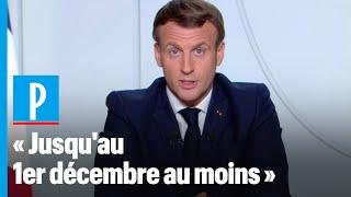 Emmanuel Macron demande aux Français de se reconfinerpour plusieurs semaines