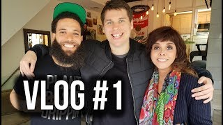 UK VEGAN IN HOLLYWOOD - VLOG #1