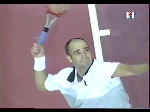 Andre Agassi vs Marat Safin Final Open Paris Bercy 1999 Part2