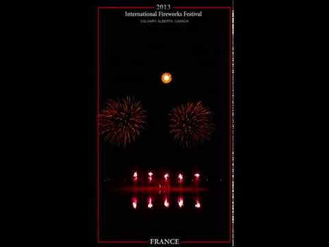 Calgary's International Fireworks Festival 2013 - FRANCE