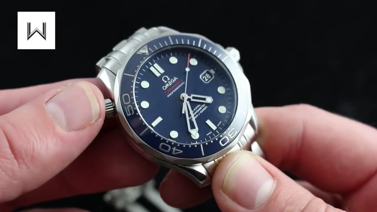 8bfba62f3d9 Omega Seamaster Professional 300M Co-Axial Diver - 007 Bond - Luxury Watch  Review
