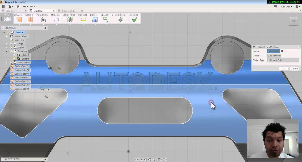 CAM for Fusion 360: Engraving a Logo & Working with Surfaces in CAM