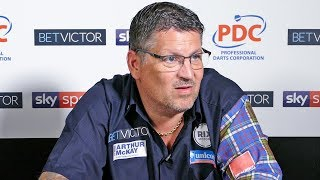 Gary Anderson doesn't care if he wins World Matchplay final, says darts is just a hobby to me.