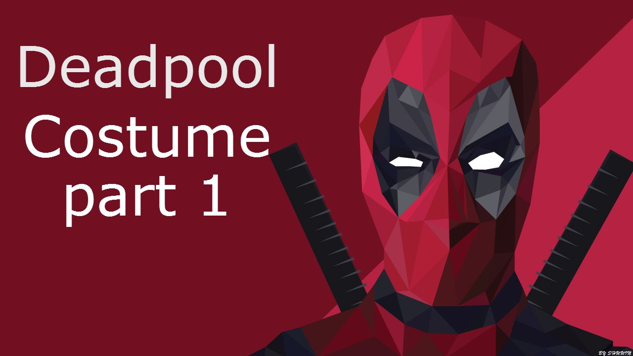 How to make a deadpool costume youtube how to make a deadpool costume solutioingenieria Images