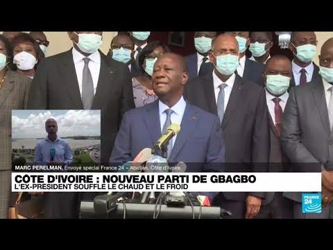 """Laurent Gbagbo lance un nouveau parti : """"Je ferai de la politique jusqu'à ma mort"""" • FRANCE 24"""