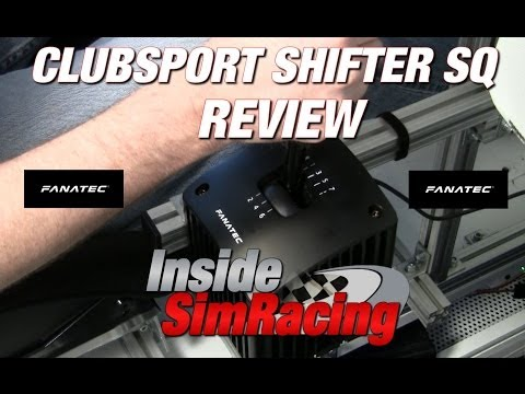 Fanatec Clubsport Shifter SQ Review by Inside Sim Racing