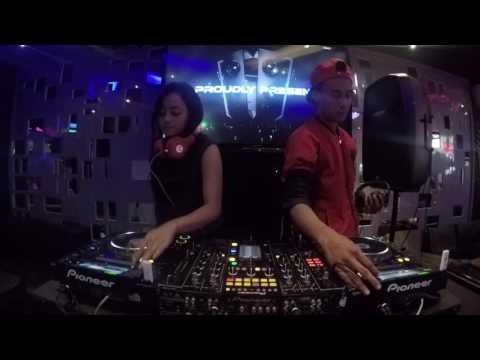 DJ Ahmad X DJ Claudia #SEMIFINAL - [Godzilla Express MLG Search DJ of The Years]