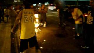 Lakers 2009-2010 June 17 2010 Part 5 Chinky Eyed Swess