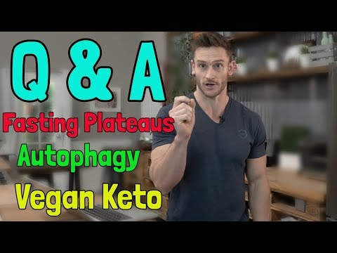 Thomas DeLauer Weekly Q&A | Fasting Plateaus | Vegan Keto | Foods for Autophagy