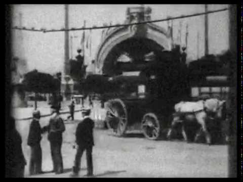 1900 - The Paris Exposition Universelle (Speed corrected w/ added sound)