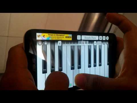 Game of thrones theme in mobile piano..