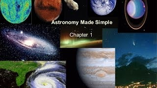 Astronomy Made Simple - Chapter 1