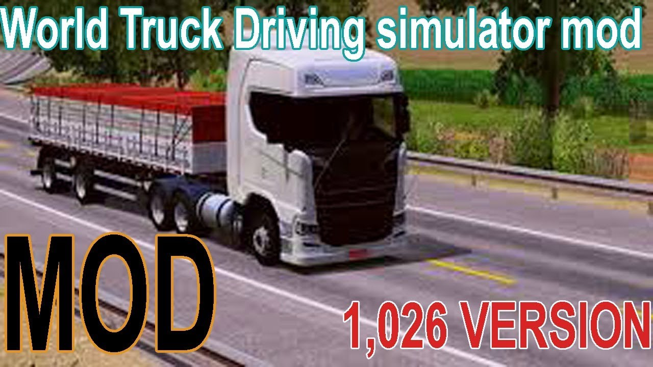 World Truck Driving Simulator Mod Apk Obb 1 026 Version Hindi Youtube