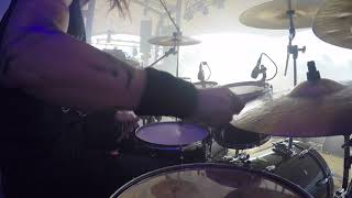 �������� ���� Marduk - Into Utter Madness (drum cam 2018) ������