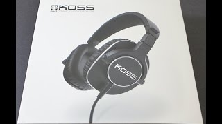 First Look: KOSS Pro4s unboxing