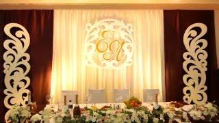 Светодиодная подсветка свадебной стенки 1 (Плавное смещение цветов)