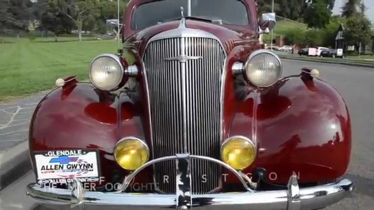 SOLD: 1937 Chevy Master Deluxe Rumble Seat Coupe, CA - YouTube