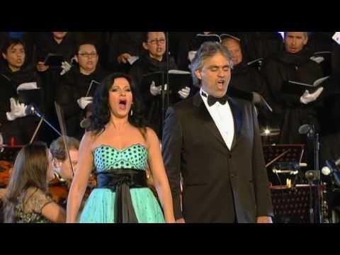 Andrea Bocelli & Angela Gheorghiu - Libiamo ne'lieti calici