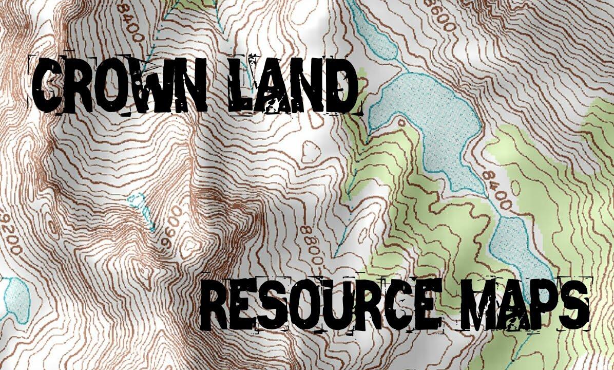 Crown Land Map Ontario SHTF Resource Maps: Crown Land | Canadian Prepper   YouTube Crown Land Map Ontario