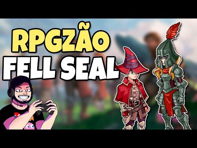 Jogo FODA que Merece ser Reconhecido (Fell Seal) // RPGzão Zika!