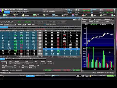 Live options trade on NFLX nets me 70% in 8 minutes
