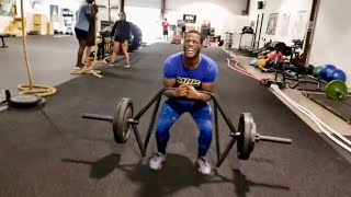 MMA Fighter Strength and Conditioning Workout with Functional Trap Bar