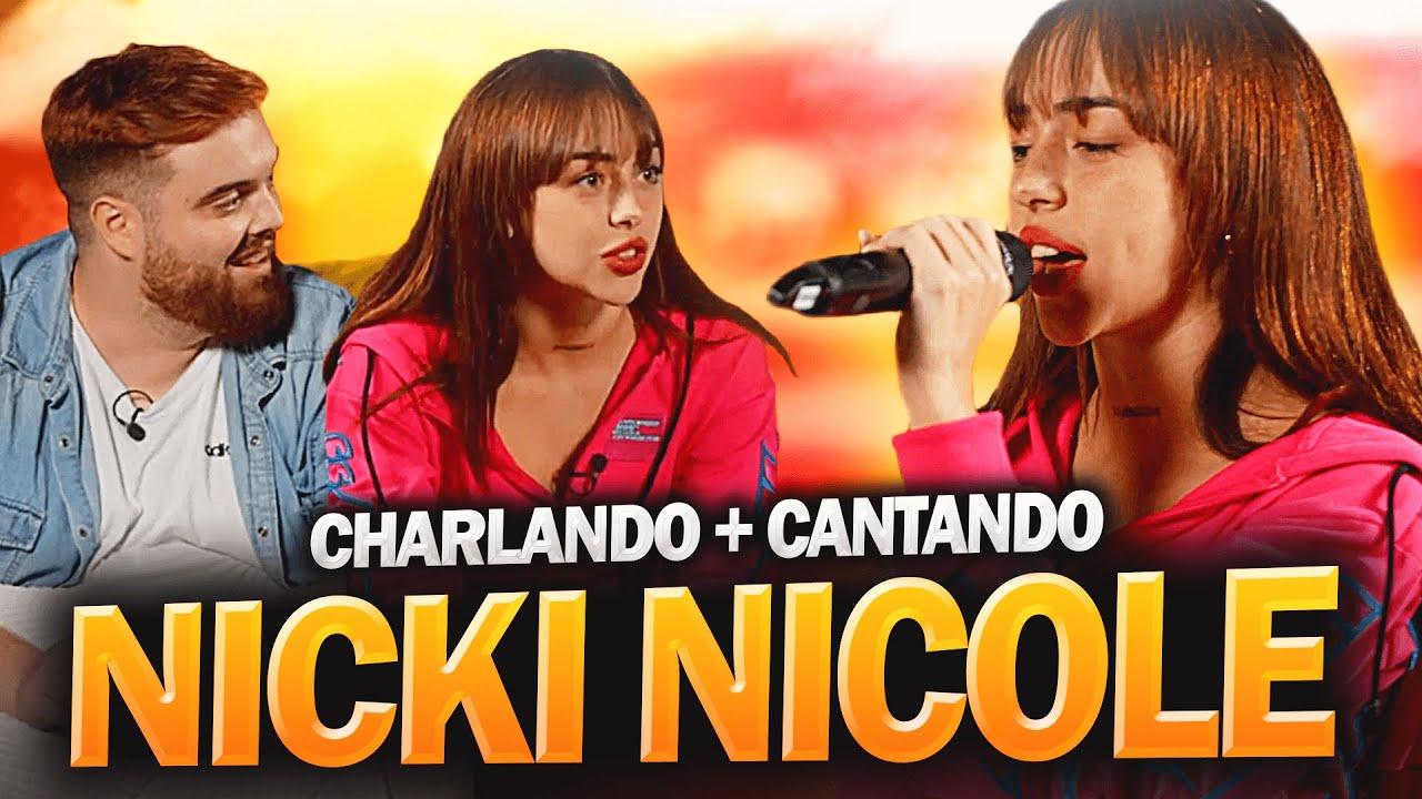 NICKI NICOLE VIENE A MI CASA Y CHARLAMOS *CANTAMOS JUNTOS EN DIRECTO*