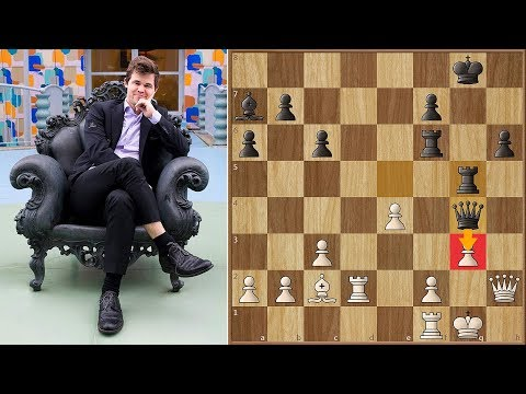 Magnus Carlsen Wins Tata Steel Chess 2018! | Tiebreaks | Round 2