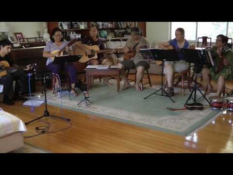 Rehearsal of The Darwin Rondalla - recorded for The National Library of Australia