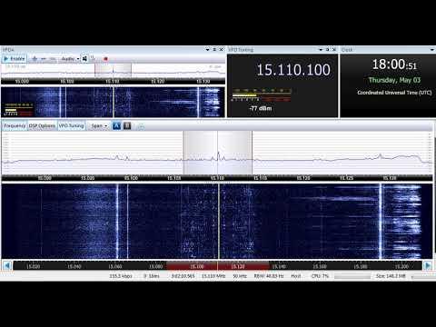 03 05 2018 SPL relay Radio Nigeria Hausa Sce in Hausa to WeAf 1800 on 15110 Secretbrod