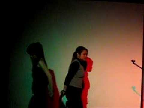 Candy Lo & Lee Hom - Hao Xin Fen Shou (Churchill Idol 2004)