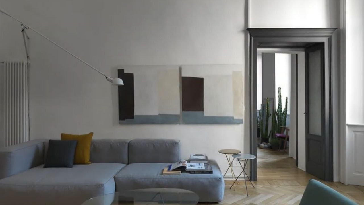 Interior design grey wabi sabi apartment denmark youtube - What is interior design ...
