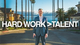 Hard Work vs Talent (Motivational) | Ryan Serhant Vlog #69