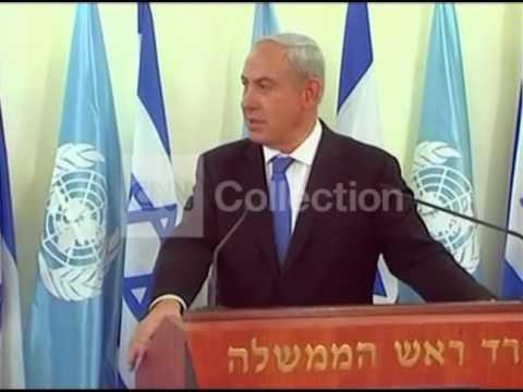 NETANYAHU/BAN PRESSER - GAZA ISRAEL CONFLICT