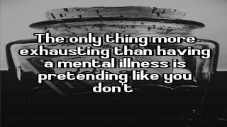 Mental health inpatient, mental health awareness (UK Documentary)