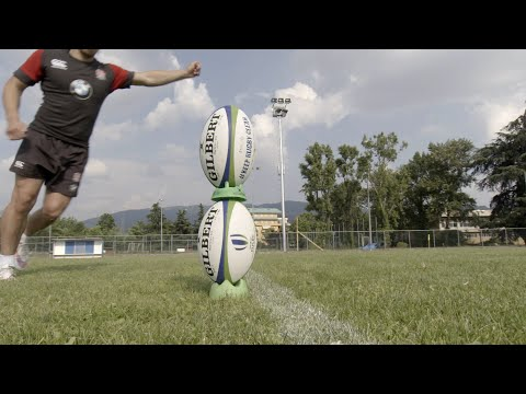 Rugby Skills! England's James Mitchell impresses....
