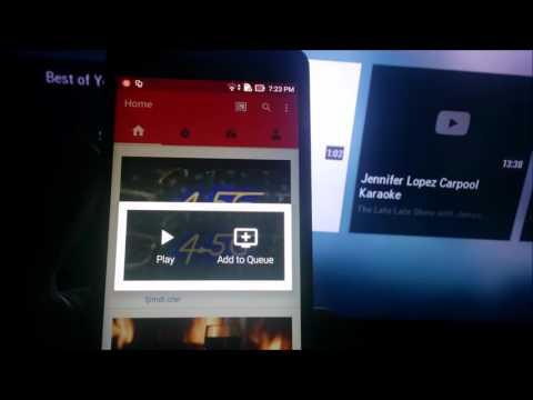 Telefondaki youtube videoları Televizyonda izleme - YouTube