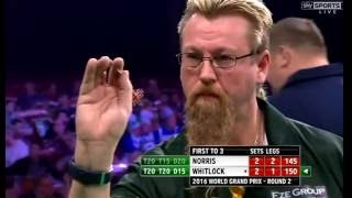 Simon Whitlock 16 Perfect Darts to Win - 2016 PDC World Grand Prix