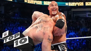 Goldberg's biggest Jackhammers: WWE Top 10, Feb. 9, 2020