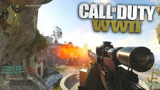 Red's First Call of Duty: WW2 Trickshots & Sniper Clips